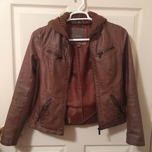 Maurices Faux Leather Jacket